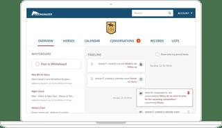 Barnmanager Website app